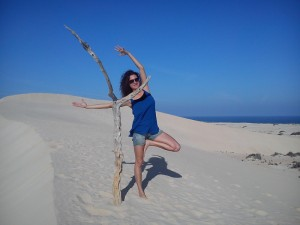 Yoga with Sally Goldfinger Fuerteventura