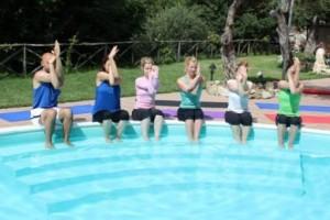 Yoga meditation Holiday