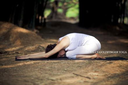 Sally Goldfinger Yoga Childs Pose