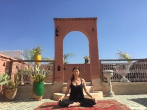 yoga classes in Marrakech