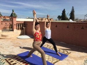 private yoga in marrakech