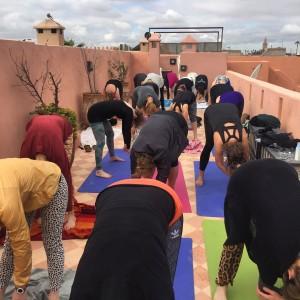 Private Yoga in marrakech