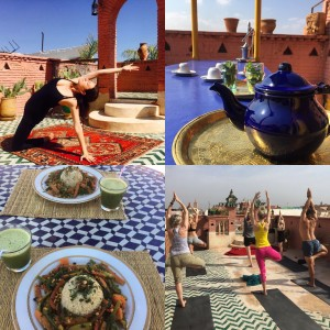 Yoga in Marrakech