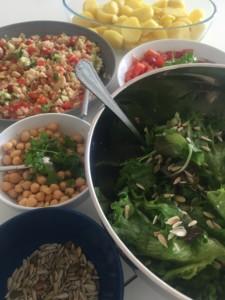 vegetarian food in marrakech