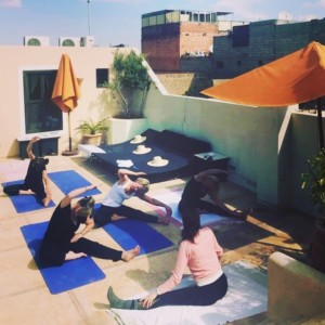 yoga teachers morocco