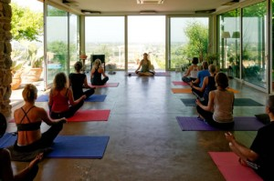 Yoga Holiday with Sally Goldfinger in Italy