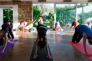 Yoga class with Sally Goldfinger1