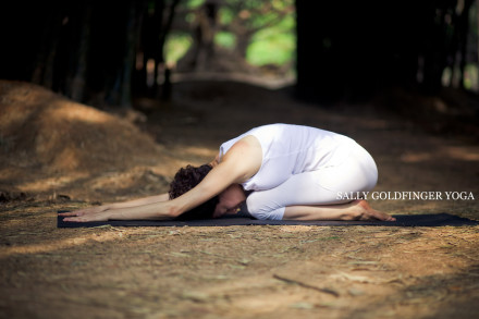 Sally Goldfinger Yoga Childs Pose