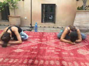Yoga class Marrakech Medina