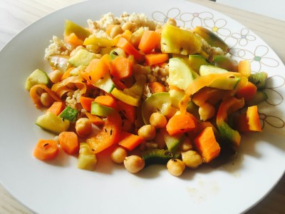 chickpea stirfry