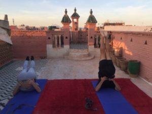 Medina Yoga class Marrakech