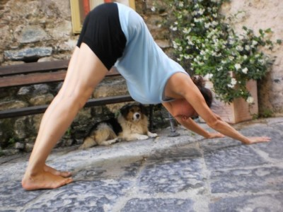 How to practice downward dog safely