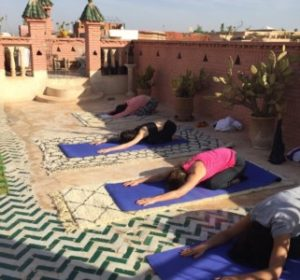 Rooftop Yoga Marrakech