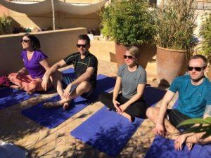 yoga in the medina marrakech