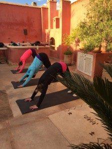 yoga classes in the medina marrakech