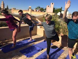 3 day yoga get away Marrakech